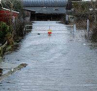 Moorland Floods Somerst 050214