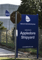 Appledore shipyard, Appledore, UK - 31 Oct 2018