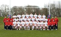 England U18 team photo 280309