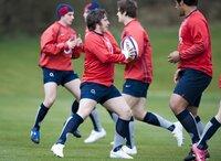 England U18 Training 270309