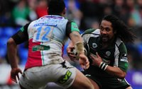 London Irish v Newcastler 140209