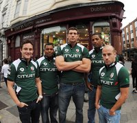London Irish in Dublin 270809