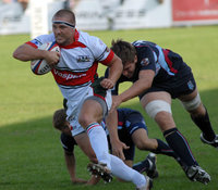 Plymouth Albion v Bedford Blues  Plymouth v Bedford 190909