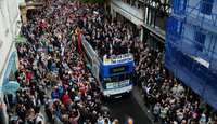 Exeter Chiefs Open Top Bus 290510