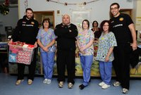 Exeter Chiefs Hospital visit 231211