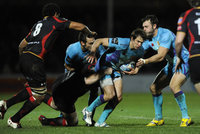 Exeter Chiefs v Newport Dragons 111211