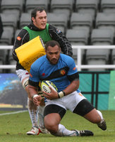 Newcastle v Exeter Chiefs 060211