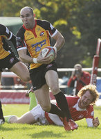 London Welsh v Cornish Pirates 291011