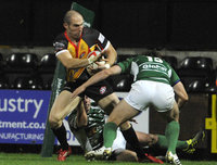 Nottingham v Cornish Pirates 141011