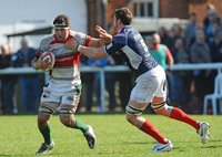 London Scottish v Plymouth Albion 010412