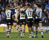 London Irish v Harlequins 281012