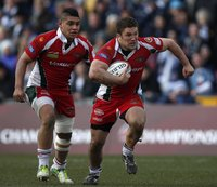Bristol Rugby  v Plymouth 310313