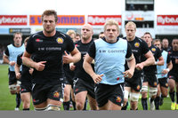 Exeter Chiefs v Worcester Warriors 261013
