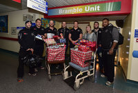 Exeter Chiefs Childrens Hospital Visit 221214