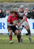 Plymouth Albion v Jersey 210215