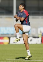 Namibia captain's run 280915