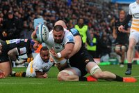 Exeter Chiefs v Wasps, Exeter, UK - 14 Apr 2019