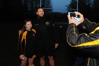 Train with your Heroes, Exeter Chiefs, Crediton, UK - 11 Apr 2019