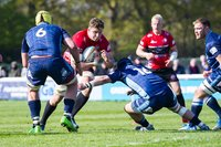 London Scottish v Cornish Pirates, London, UK - 13 Apr 2019.