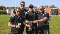Sidmouth RFC and Crediton RFC, Sidmouth, UK - 20 Apr 2019