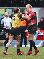 Cornish Pirates v Ealing Trailfinders, Penzance, UK - 16 Feb 201