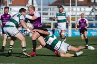 Ealing Trailfinders V Cornish Pirates, London, UK - 24 Feb 2019.