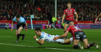 Gloucester Rugby v Exeter Chiefs, Gloucester, UK - 15 Feb 2019
