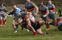 Caldy v Plymouth Albion, Caldy, UK - 26 Jan 2019