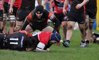 Cornish Pirates v Hartpury RFC, Penzance, UK - 27 Jan 2019