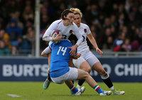 England Women v Italy Women, Exeter, UK - 9 Mar 2019