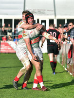 Plymouth Albion vs Birmingham Moseley, Plymouth, UK - 30 Mar 2019