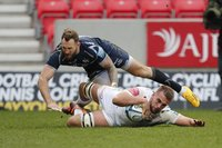 Sale Sharks v Exeter Chiefs, Manchester, UK - 2 March 2019