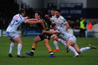 Worcester Warriors v Exeter Chiefs, Worcester, UK - 9 Mar 2019