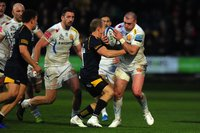 Worcester Warriors v Exeter Chiefs, Worcester, UK - 3 Nov 2019