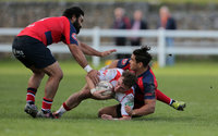 Plymouth Albion v Sale FC, Plymouth, UK - 19 Oct 2019