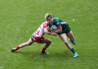 London Irish and Gloucester Rugby, Reading, UK - 22 Feb 2020