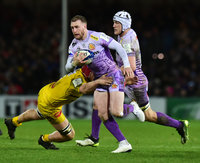 Exeter Chiefs v La Rochelle, Exeter, UK - 18 Jan 2020