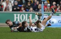 Leicester Tigers v Bristol, Leicester, UK - 04 Jan 2020