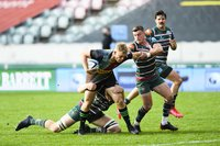 Leicester Tigers v Harlequins, Leicester, UK - 4 Oct 2020.
