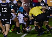 Bath Rugby v London Irish, Bath, UK - 9 Apr 2021