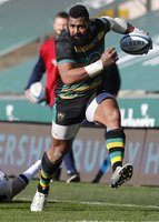 Northampton Saints  v Bath Rugby, Northampton, UK - 28 Feb 2021