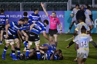 Bath Rugby v Wasps, Bath, UK - 8 Jan 2021