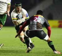 Harlequins v London Irish, London, UK - 10 Jan 2021