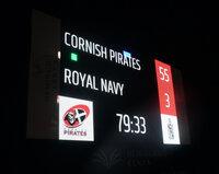 Cornish Pirates v Royal Navy, Penzance, UK - 3 Sep 2021