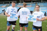 """Exeter Chiefs """"Know the Score"""", Exeter, UK - Apr 5 2017"""
