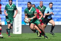 London Irish v Jersey Reds, Reading, UK - 2 Apr 2017