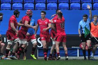 London Irish v Jersey Reds, Reading, UK - 2 Apr 2017