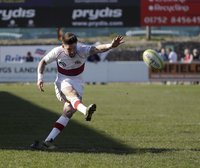 Plymouth Albion v Ampthill, Plymouth, UK - 8 Apr 2017