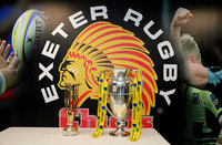 Gareth Steensons Chiefs XV v The Classic Lions XV, Exeter, UK -