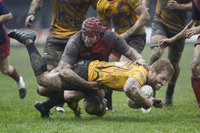 Cornish Pirates v Scarlets Premiership Select, Penzance UK - 17